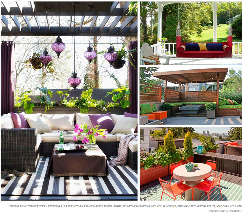 Boston Magazine - Five Tips for Designing Your Outdoor Patio