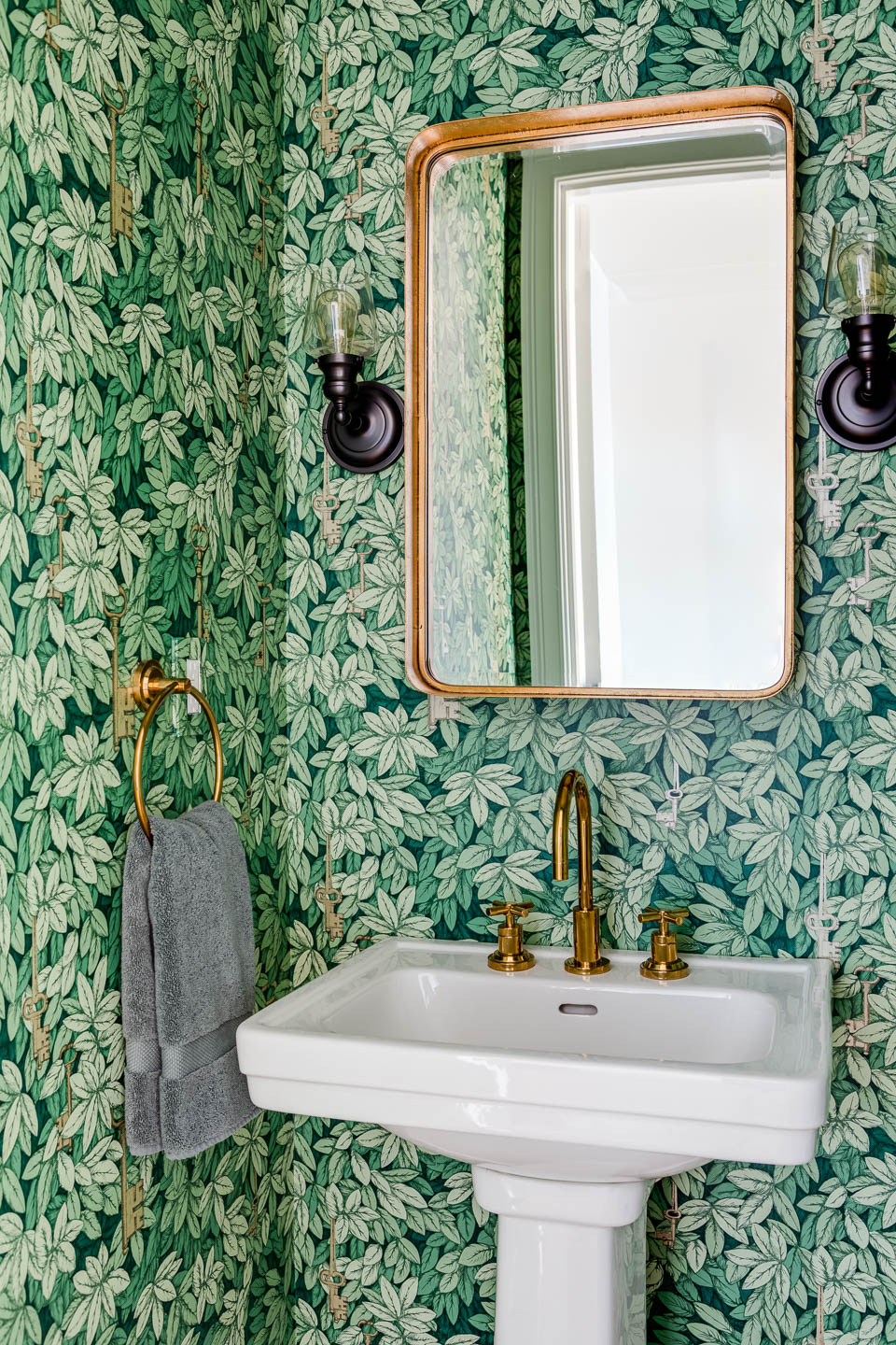 Featured On Houzz - 50 Picture Perfect Powder Rooms