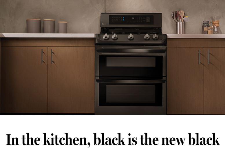 Boston Globe - In The Kitchen, Black is the New Black