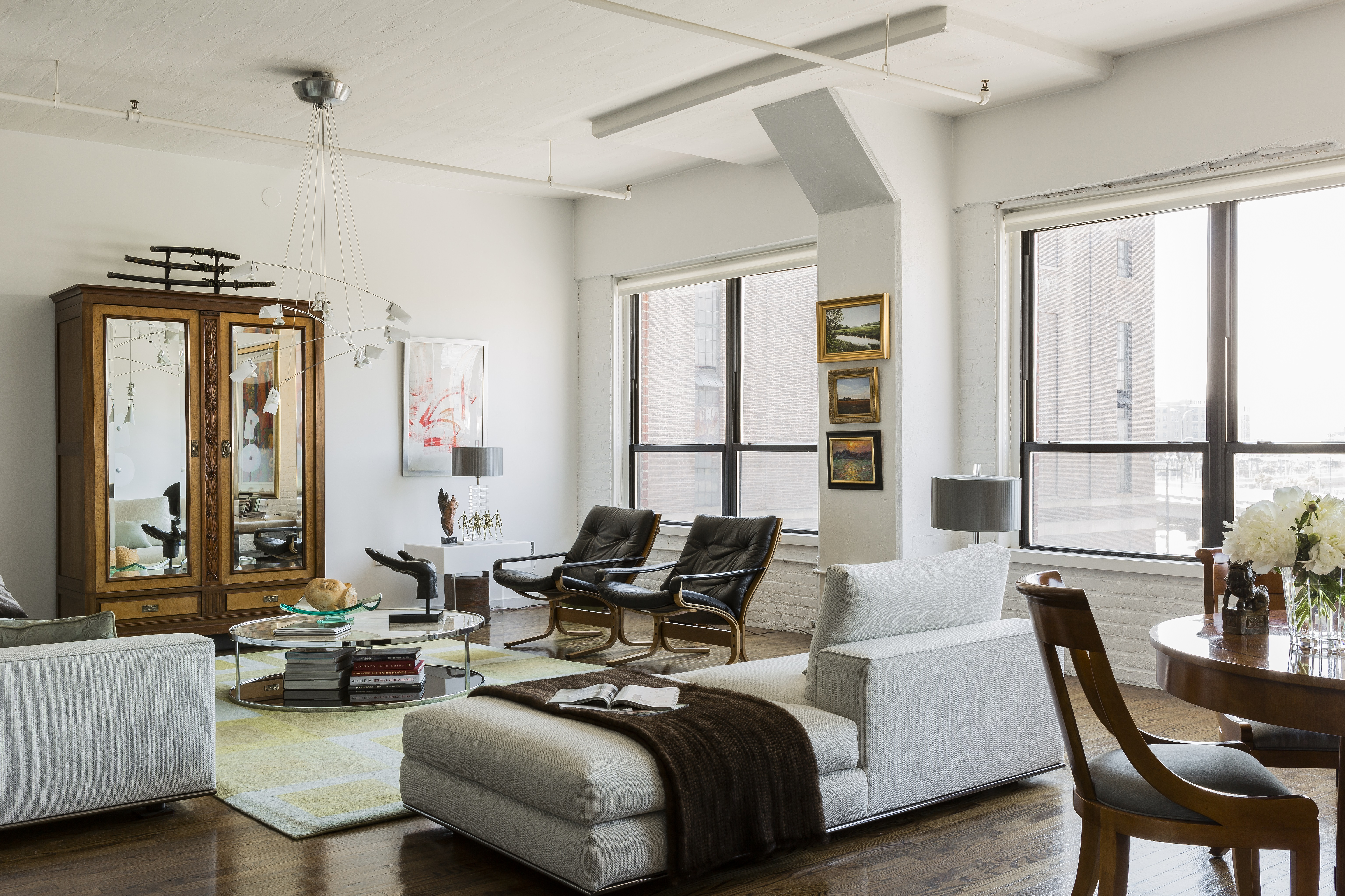 StyleCarrot - Design Diary: Leather District Loft by Michael Ferzoco